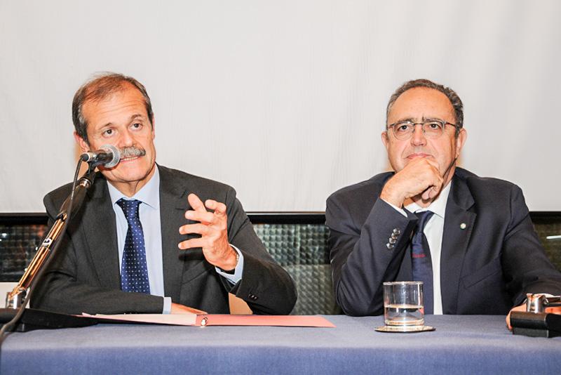 Meeting with Giampiero Massolo