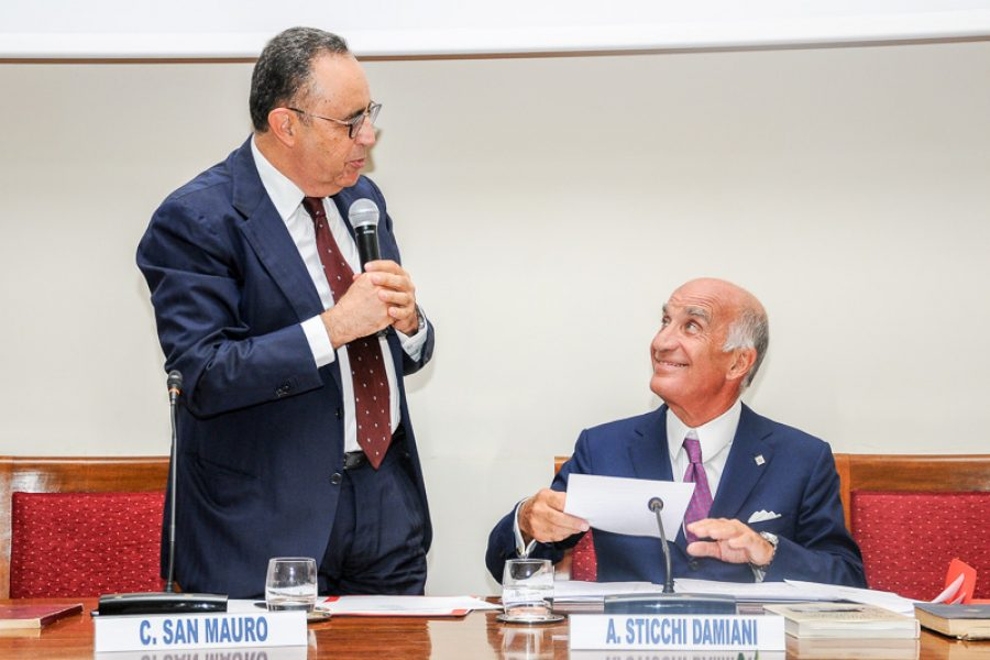 Meeting with Angelo Sticchi Damiani