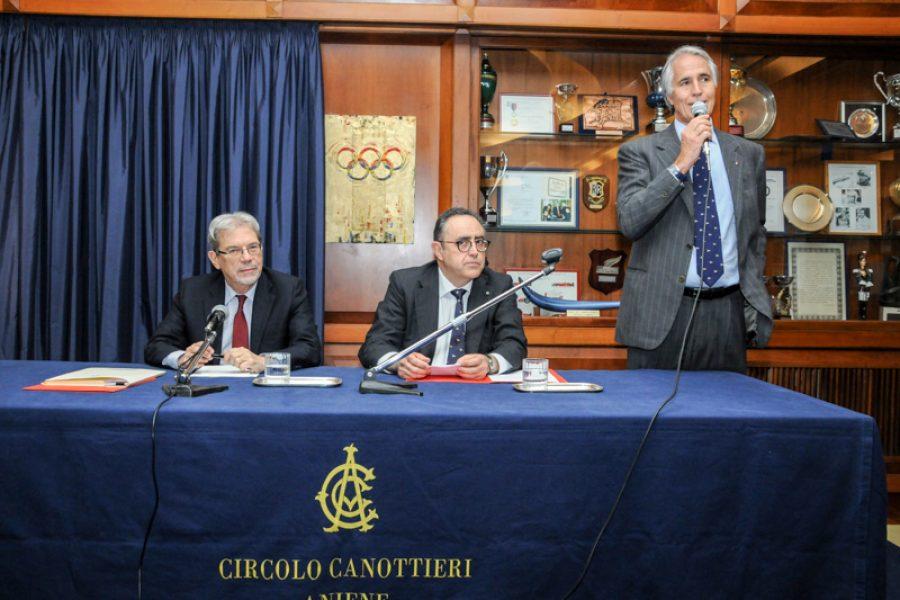 Meeting with Claudio De Vincenti