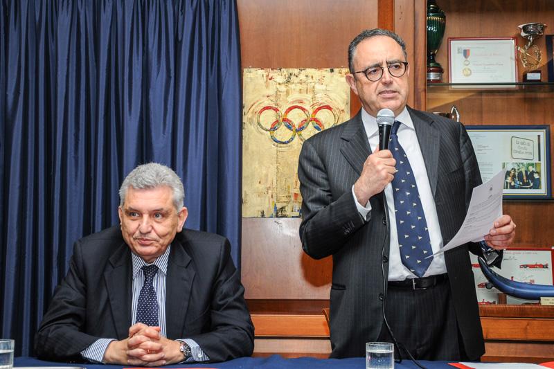 Meeting with Maurizio Stirpe