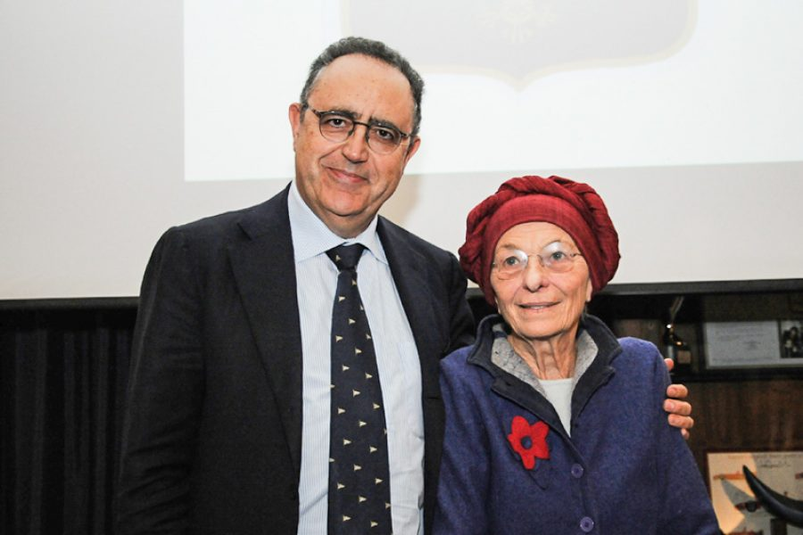 Meeting with Emma Bonino