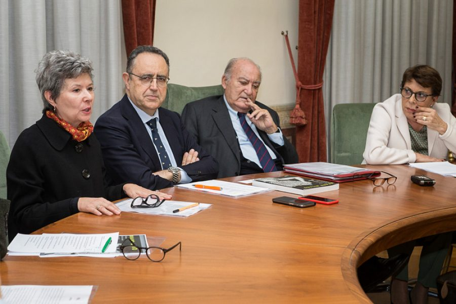 Meeting with The University Deans of Rome
