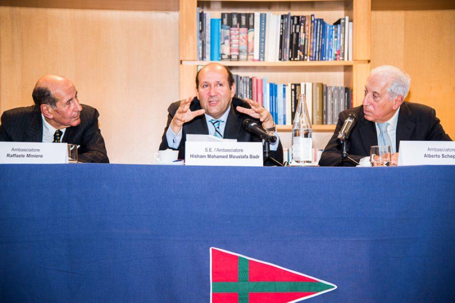 Meeting with H.E. Hisham Mohamed Moustafa Badr