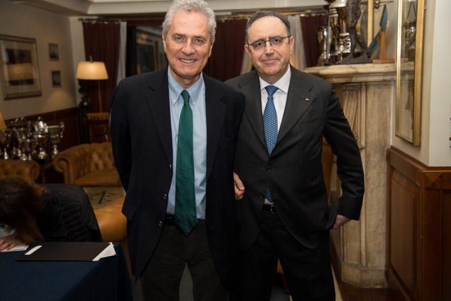 Meeting with Francesco Rutelli