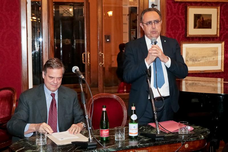 Meeting with Lorenzo Bini Smaghi