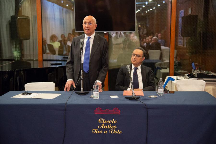 Meeting with Antonio Patuelli