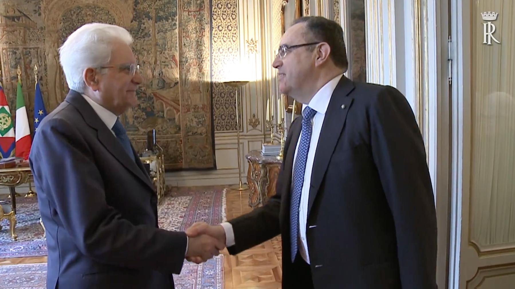 La Fondazione Roma Europea in udienza dal Presidente della Repubblica Sergio Mattarella