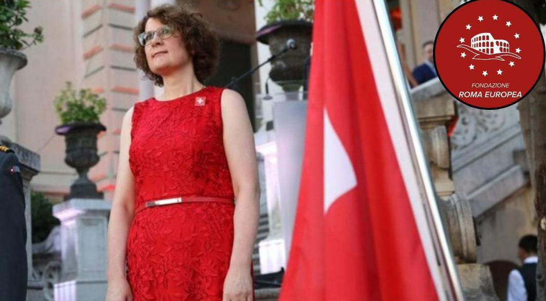 L' ambasciatrice svizzera in Italia, S. E. Rita Adam, ospite della Fondazione