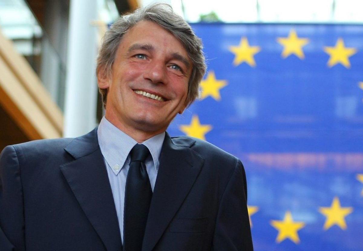 Il Presidente del Parlamento Europeo, David Sassoli, ospite della Fondazione