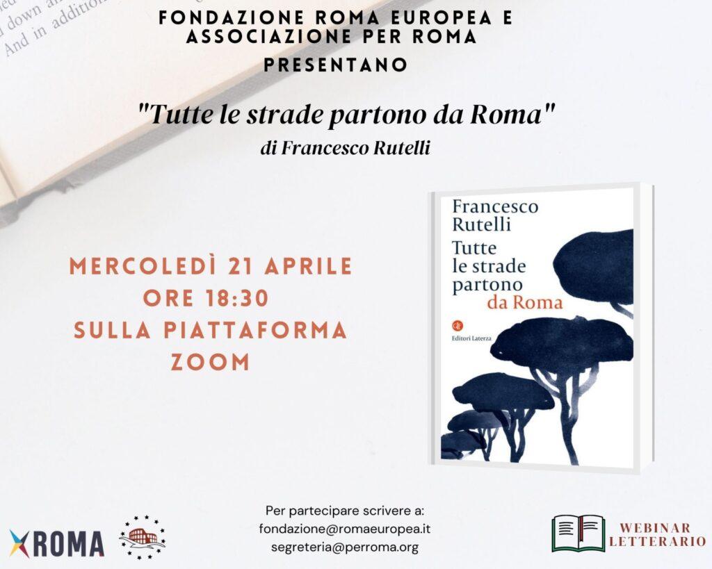 Webinar Letterario – Tutte le strade partono da Roma