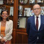 La Rettrice Antonella Polimeni ospite della Fondazione Roma Europea